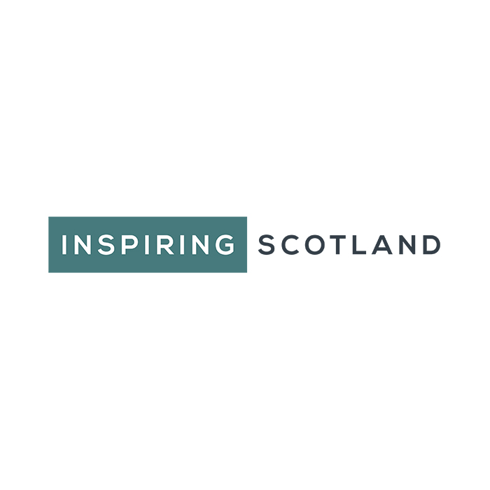 Carefully crafting a new brand for Inspiring Scotland.
